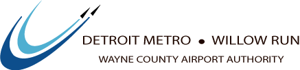 Detroit Metro - Willow Run - Wayne County Airport Authority Logo
