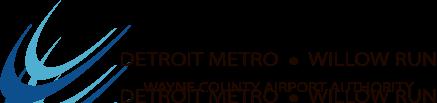 Detroit Metro - Willow Run - Wayne County Airport Authority Logo